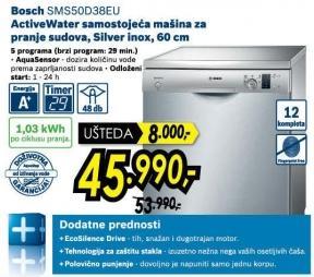 Mašina za pranje sudova Sms50d38eu