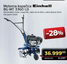 Motorna kopačica BG-MT 3360 LD