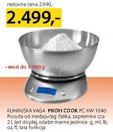 Kuhinjska Vaga Pc-Kw 1040