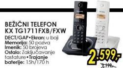 Bežični telefon Kx Tg1711Fxb/Fxw