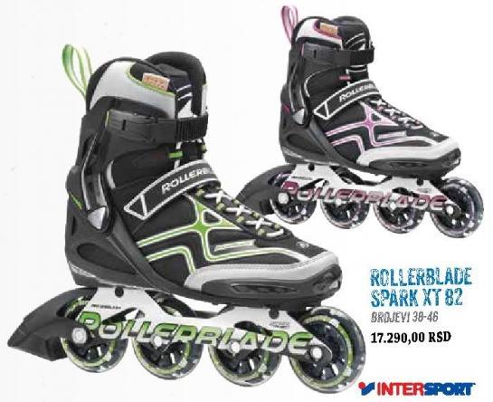 Roleri Rollerblade Spark XT 82