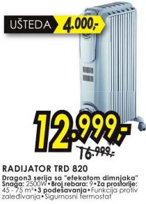 Radijator TRD 820