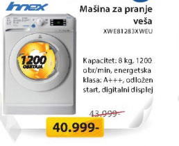 Masina za veš XWE81283XWEU
