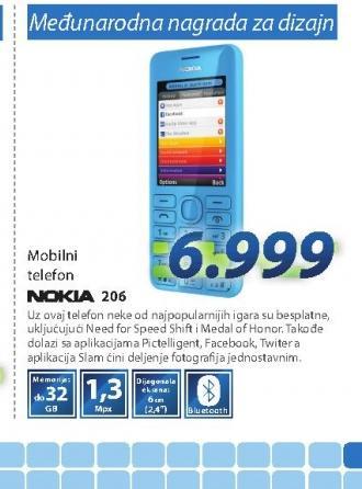 Mobilni telefoni ASHA 206