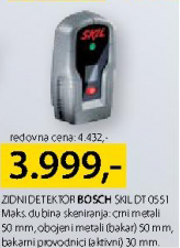 Zidni detektor SKIL DT 0551