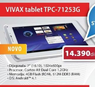 Tablet TPC-71253G