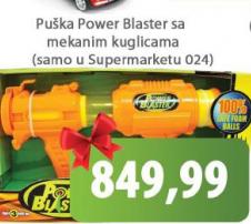 Puška Power blaster