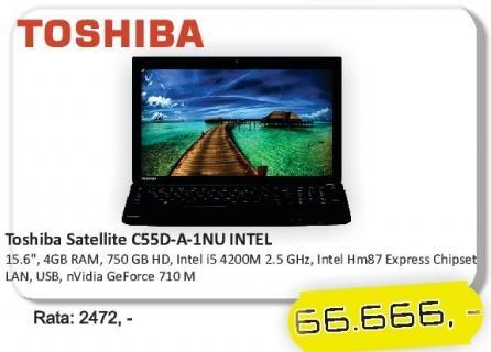 Laptop Satellite C55d-A-1nu
