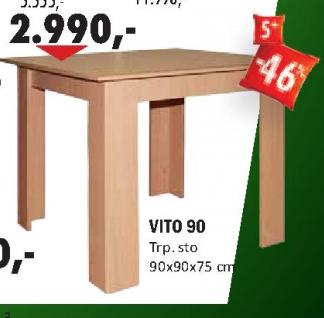 Trpezarijski sto VITO 90