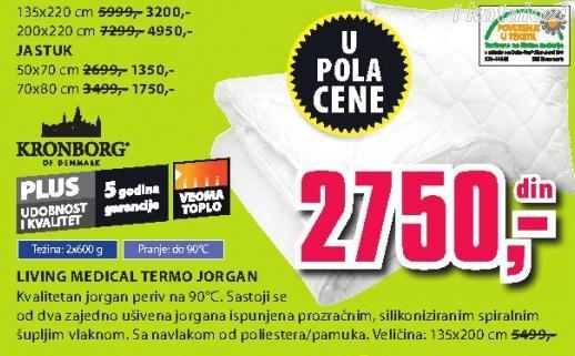 Jastuk Living Medical Termo 50x70