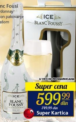 Belo vino Chardonnay Blanc Foussy