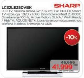 """Televizor LED 32"""" LC32LE350VBK"""