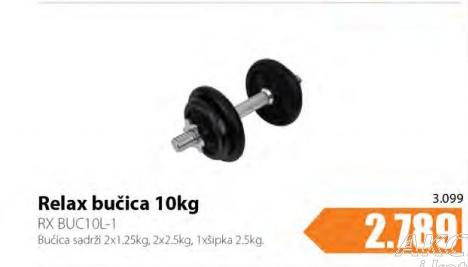 Teg RX BUC10L-1, Relax bučica 10kg