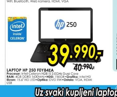 Laptop 250 G2 F0Y84EA