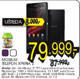 Mobilni telefon XPERIA Z