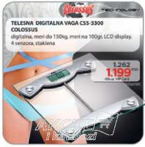 Telesna Digitalna Vaga CSS-3300