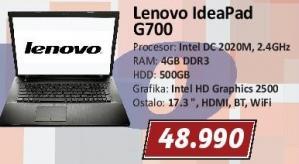 Laptop IdeaPad G700