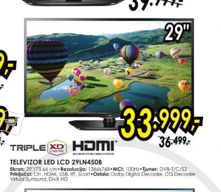Televizor LED 29LN450B