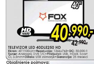Televizor LED LCD 40DLE250 HD