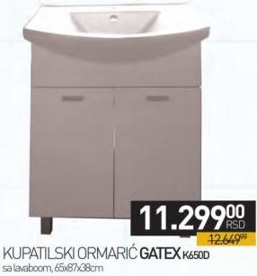 Kupatilski ormarić Gatex K650D