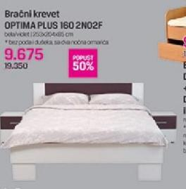 Bračni Krevet Optima plus 160 2N02F