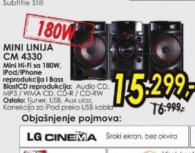 Mini linija CM 4330