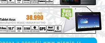 Tablet MeMO Pad HD10 ME302C-1B054