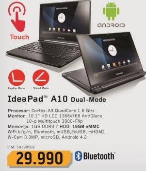 Laptop IdeaPad A10 Dual-mode 59399502