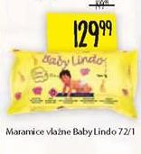 Vlažne maramice Baby Lindo