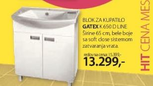 Blok za kupatilo K650