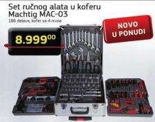 Set ručnog alata u koferu MAC - 03