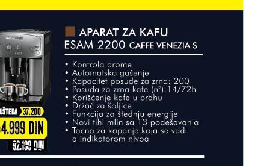 Aparat za espresso ESAM 2200