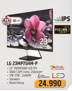 """Monitor LED 23"""" 23mp75hm-p"""