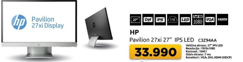 "Monitor 27"" Pavilion 27xi"