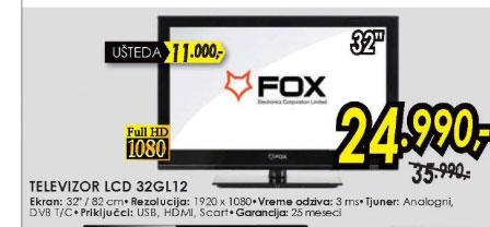 LED Televizor 32GL12