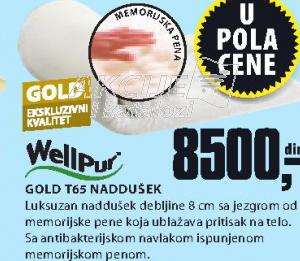 Naddušek Gold T65