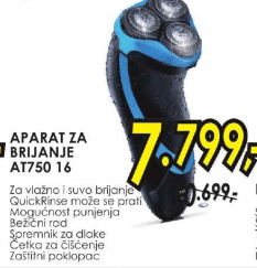 Aparat za brijanje AT750/16