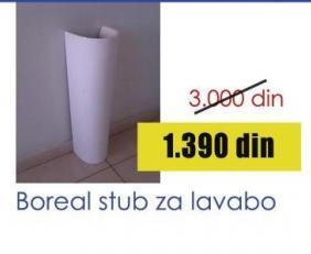 Stub za lavabo Boreal