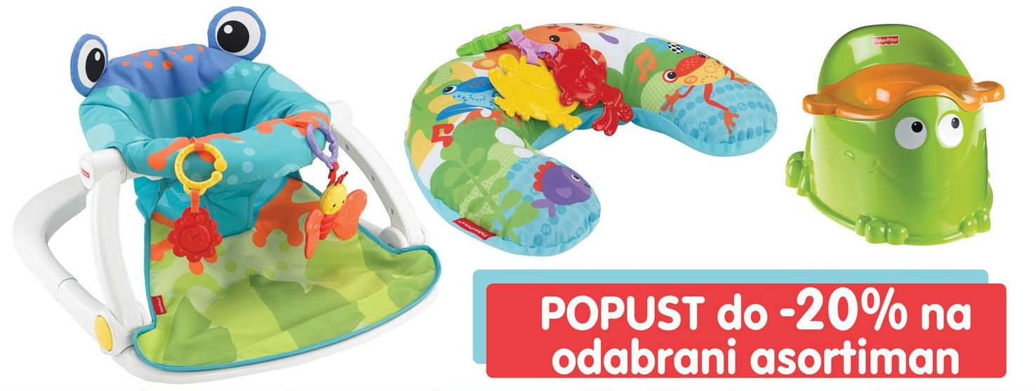 Popust na Fisher-Price igračke