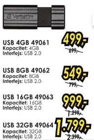 USB fleš 8GB 49062