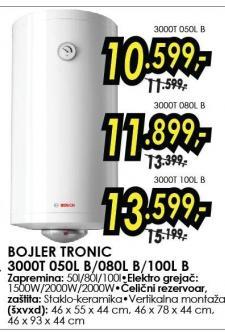 Bojler Tronic 080L B
