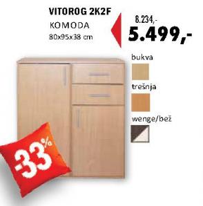 Komoda Vitorog 2K2F