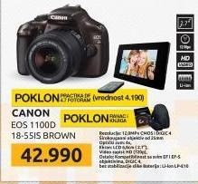 Digitalni Fotoaparat  EOS 1100D Brown