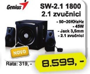 Zvučnici 2.1 Sw-2.1 1800