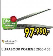 Ultrabook Portege Z830-10E