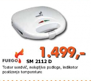 Toster SM 2112 D