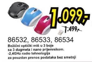 Bežični optički miš 86532