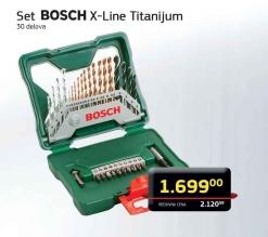 Set X-line Titanijum