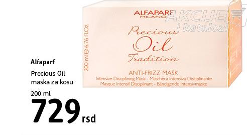 Precious Oil Maska za kosu