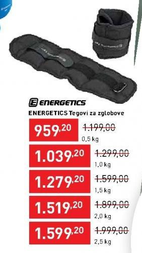 Tegovi za zglobove Energetics